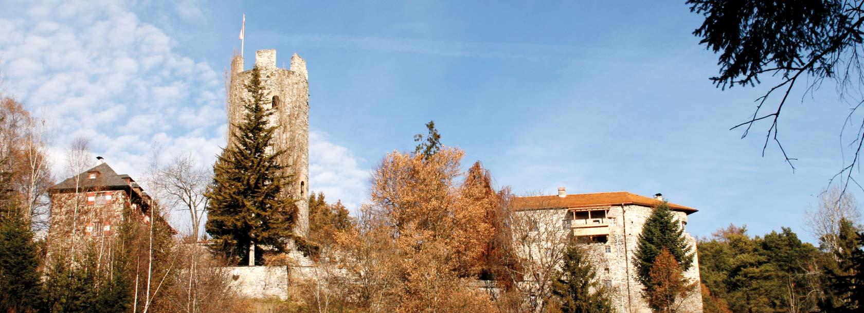 Ansicht Burg Klamm - Obsteig